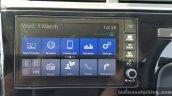 Honda WR-V Digipad infotainment system