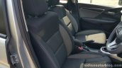 Honda WR-V front seats