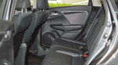 Honda WR-V rear cabin First Drive Review
