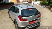 Honda WR-V rear three quarters elevated view
