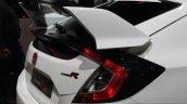 2017 Honda Civic Type-R wing at the Geneva Motor Show