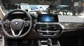 India-bound 2017 BMW 5 Series dashboard at the 2017 Geneva Motor Show Live