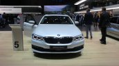 India-bound 2017 BMW 5 Series front at the 2017 Geneva Motor Show Live
