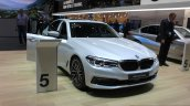 India-bound 2017 BMW 5 Series front quarter at the 2017 Geneva Motor Show Live