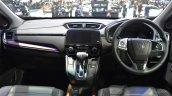 India-bound 2017 Honda CR-V 7-seater dashboard at the BIMS 2017