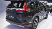 India-bound 2017 Honda CR-V 7-seater rear quarter at the BIMS 2017