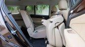 India-bound 2017 Isuzu MU-X (facelift) seat tumble image