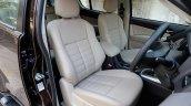 India-bound 2017 Isuzu MU-X (facelift) seats image