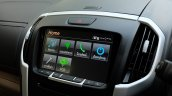 India-bound 2017 Isuzu MU-X (facelift) touchscreen system image