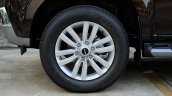 India-bound 2017 Isuzu MU-X (facelift) wheel image