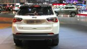 India-bound Jeep Compass rear at the Geneva Motor Show Live