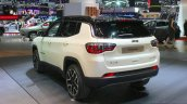 India-bound Jeep Compass rear quarter at the Geneva Motor Show Live
