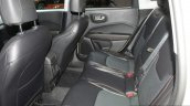 India-bound Jeep Compass rear seat at the Geneva Motor Show Live