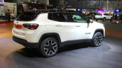 India-bound Jeep Compass rear three quarter at the Geneva Motor Show Live