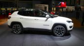 India-bound Jeep Compass side at the Geneva Motor Show Live