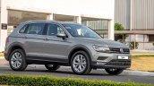 Indian-spec VW Tiguan front three quarters