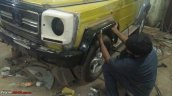 India's first Force Gurkha to Mercedes G Wagen conversion fenders