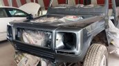 India's first Force Gurkha to Mercedes G Wagen conversion front fascia painted