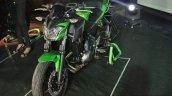 Kawasaki Z650 front three quarter left at India launch