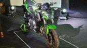 Kawasaki Z650 front three quarter right at India launch