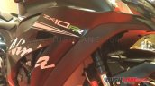 Kawasaki ZX10RR India launch side fairing