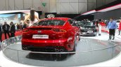 Kia Stinger rear at the 2017 Geneva Motor Show