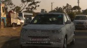 Mahindra S201 (Ssangyong Tivoli based crossover) spotted in Chennai