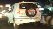 Mahindra TUV500 (Mahindra TUV300 XL) rear three quarters left side spy shot