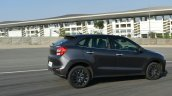 Maruti Baleno RS entering corner First Drive Review