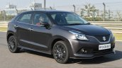 Maruti Baleno RS front three quarter dynamic First Drive Review