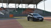 Maruti Baleno RS front three quarter far First Drive Review