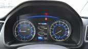 Maruti Baleno RS instrument cluster First Drive Review