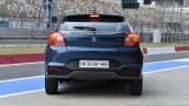 Maruti Baleno RS rear blue First Drive Review