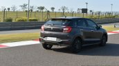 Maruti Baleno RS rear quarter close First Drive Review