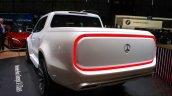 Mercedes Concept X Class pick up rear quarter at the Geneva Motor Show Live