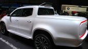 Mercedes Concept X Class pick up rear three quarter at the Geneva Motor Show Live