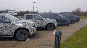 Mercedes X-Class exterior spy shot