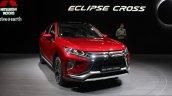 Mitsubishi Eclipse Cross front quarter at the 2017 Geneva Motor Show Live