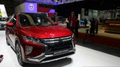 Mitsubishi Eclipse Cross front quarter right at the 2017 Geneva Motor Show Live