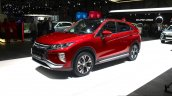 Mitsubishi Eclipse Cross front three quarter at the 2017 Geneva Motor Show Live