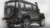 New Force Gurkha 3-door rear three quarter press image