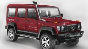 New Force Gurkha 5-door front three quarter press image