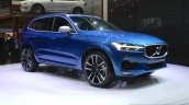 New Volvo XC60 front three quarter at the Geneva Motor Show Live