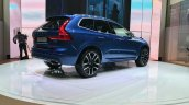 New Volvo XC60 rear three quarter at the Geneva Motor Show Live