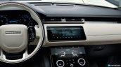 Range Rover Velar dashboard driver side