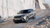 Range Rover Velar front three quarters