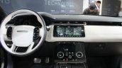 Range Rover Velar interior at the Geneva Motor Show