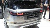 Range Rover Velar rear quarter at the Geneva Motor Show