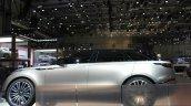 Range Rover Velar side at the Geneva Motor Show