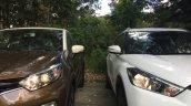 Renault Captur (Renault Kaptur) vs Nissan Kicks headlamps